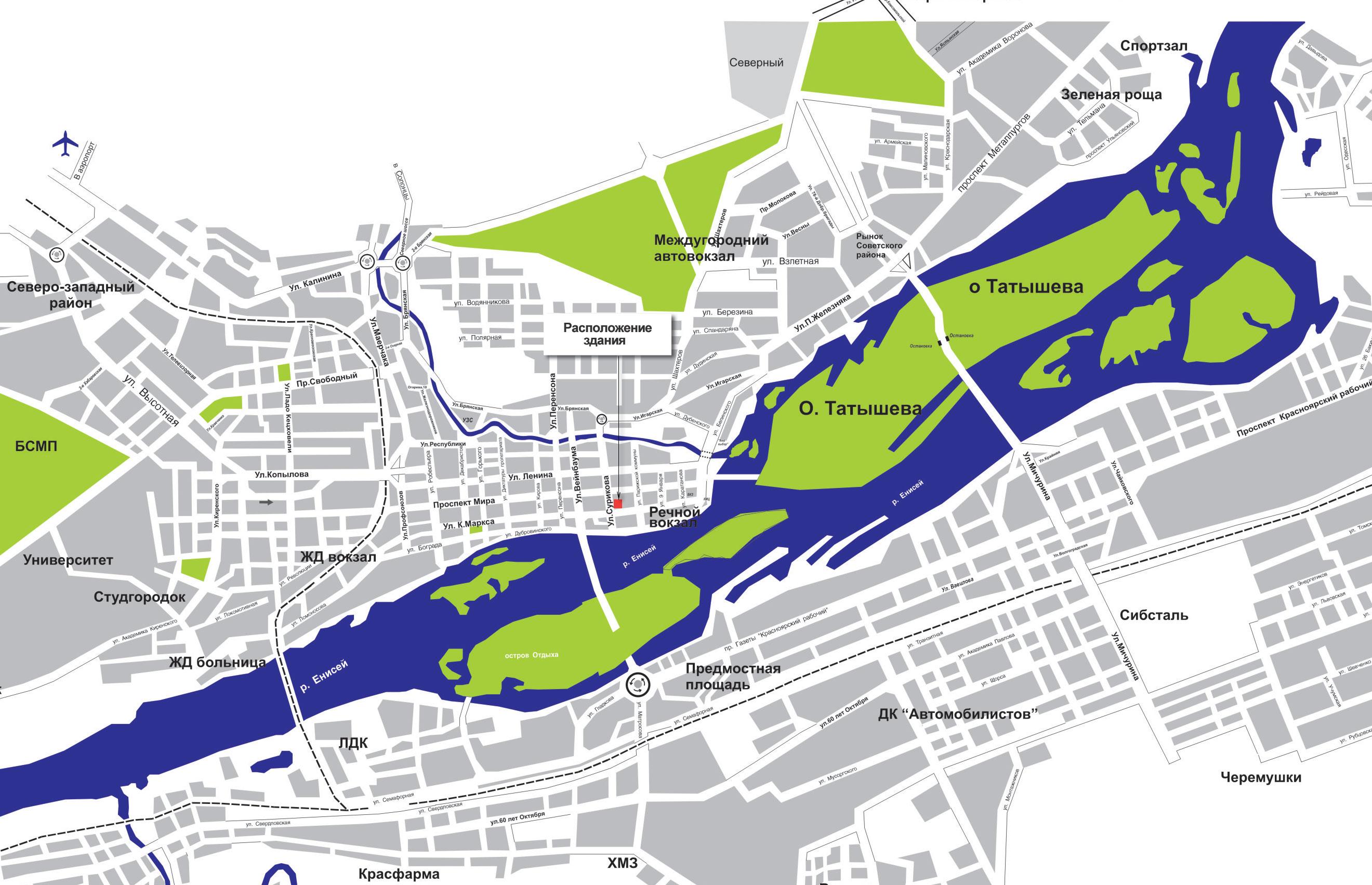 城市地图 - 俄罗斯咨讯